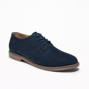 Old Navy Faux-Suede Bucks for Men (Blue)